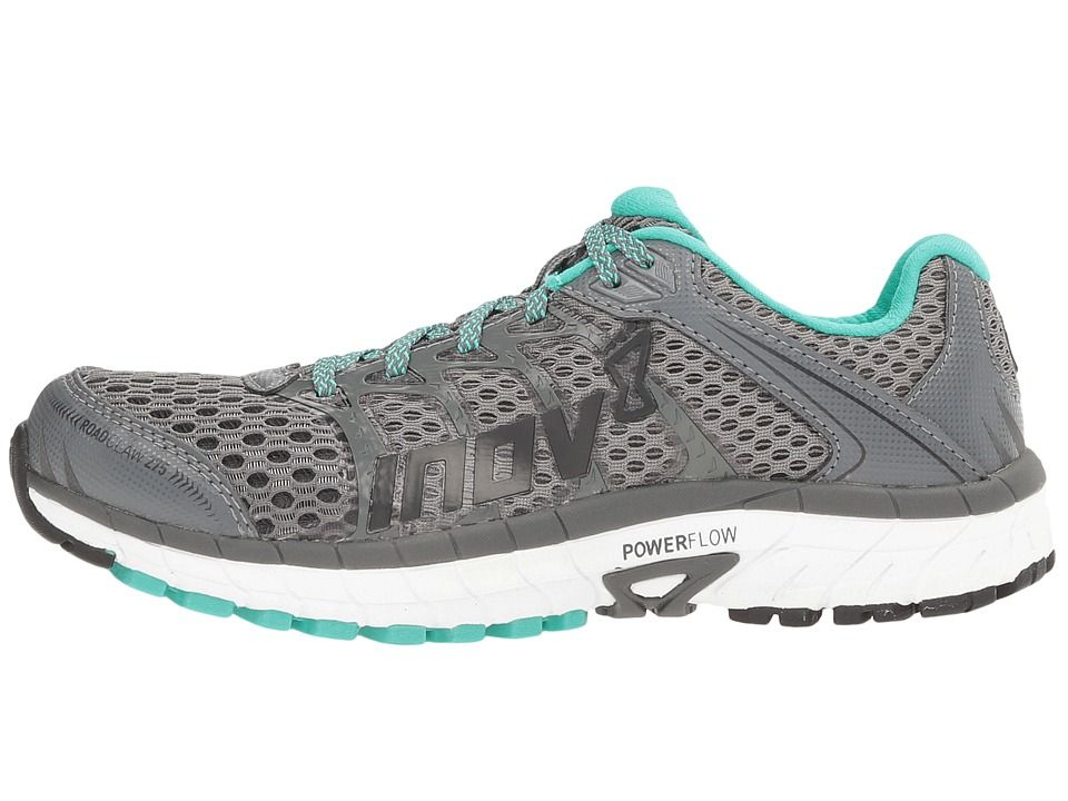 a0606f9fe57867 inov-8 Road Claw 275 Women s Running Shoes Dark Grey White Teal ...