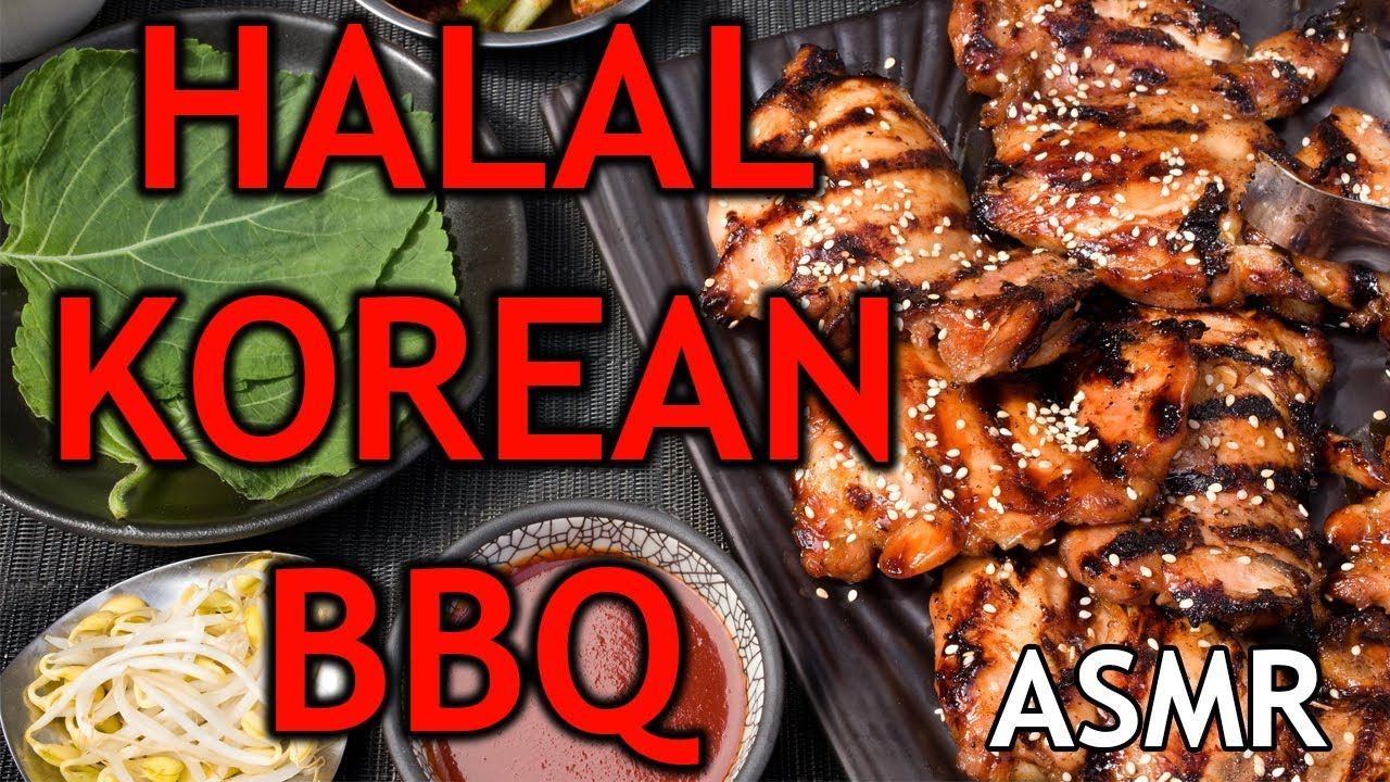 Halal Korean Bbq In Seoul South Korea Asmr In 2020 Korean Bbq Halal Bbq