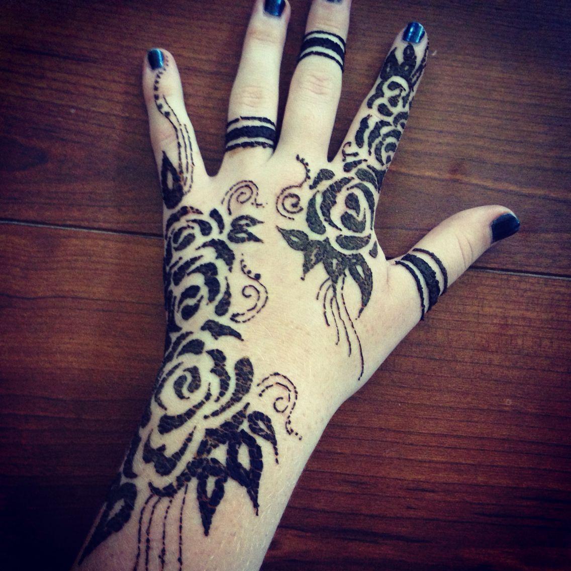 Henna Rose Tattoo by kstrawberry on DeviantArt |Realistic Rose Tattoos Henna Designs
