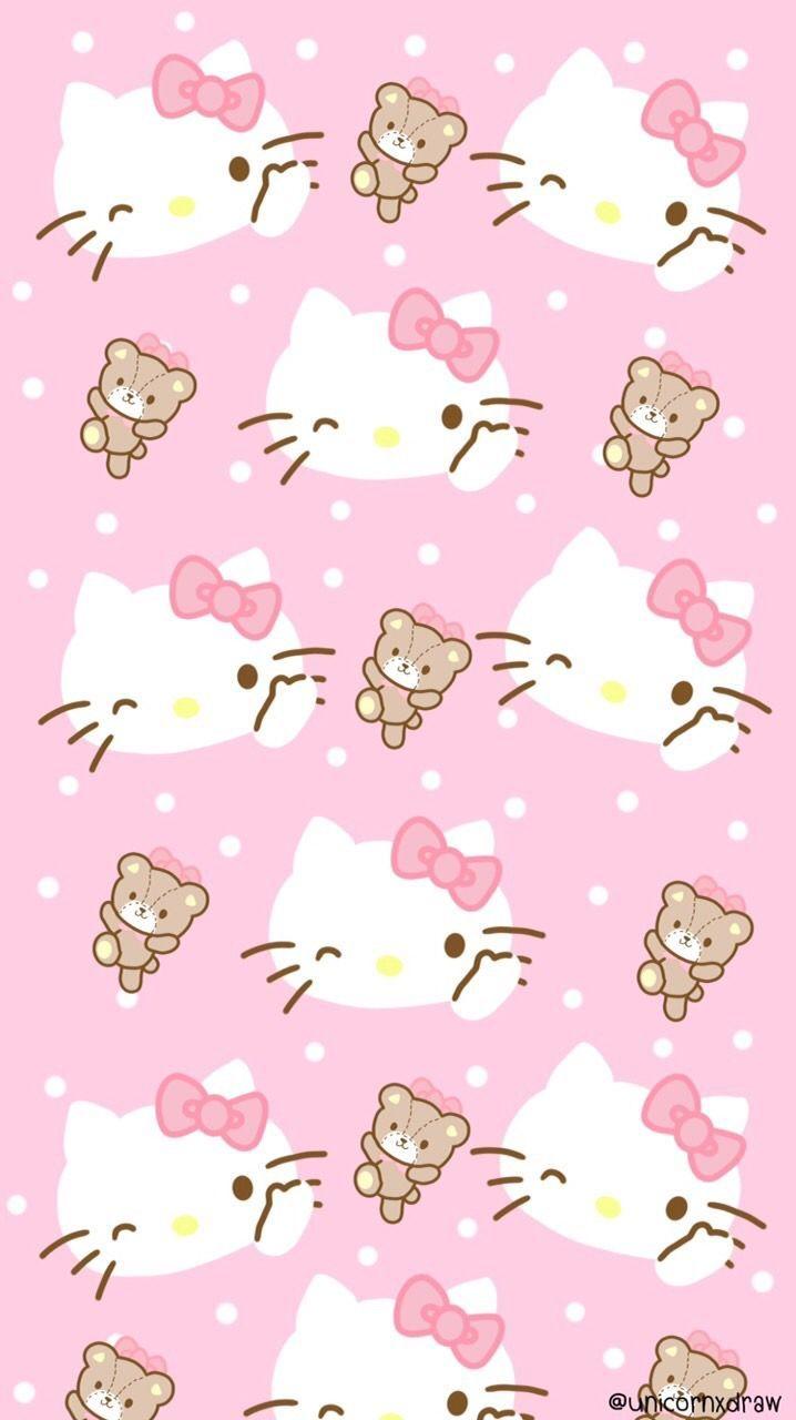 ป กพ นโดย Bich Ngọc ใน Hello Kitty Pictures 5 วอลเปเปอร ขำๆ ลายเส นด เด ล สต กเกอร