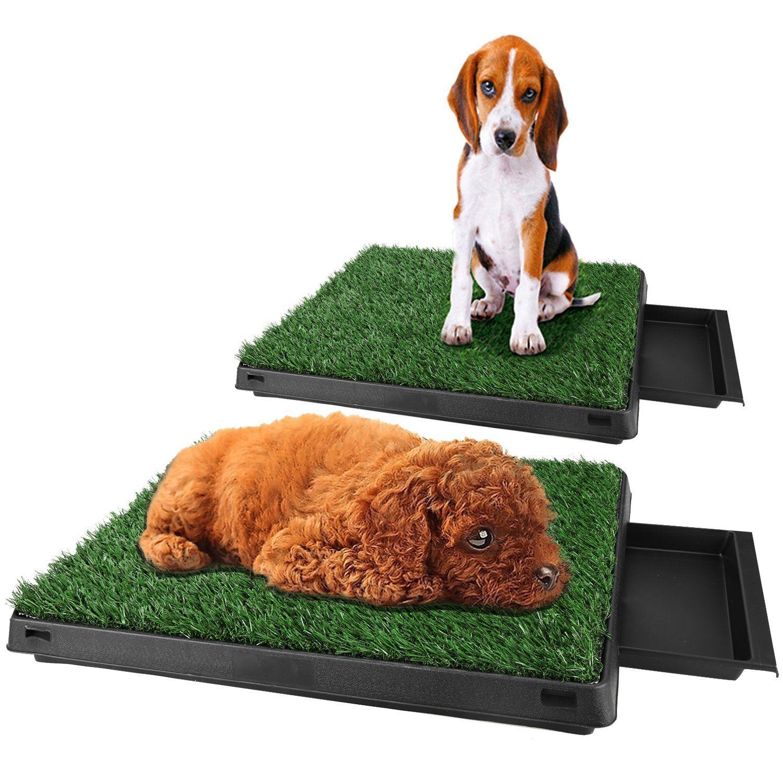 Tomasar Indoor Pet Dog Potty Puppy Grass Mat Toilet Training Pad