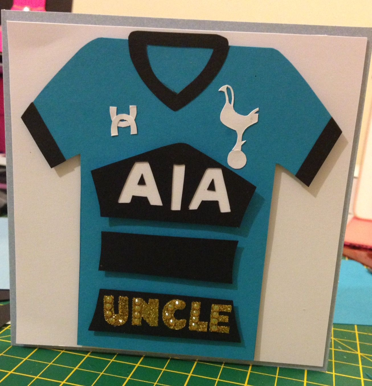 Tottenham Hotspur Birthday Card Inspirational Cards Cards Cards Handmade