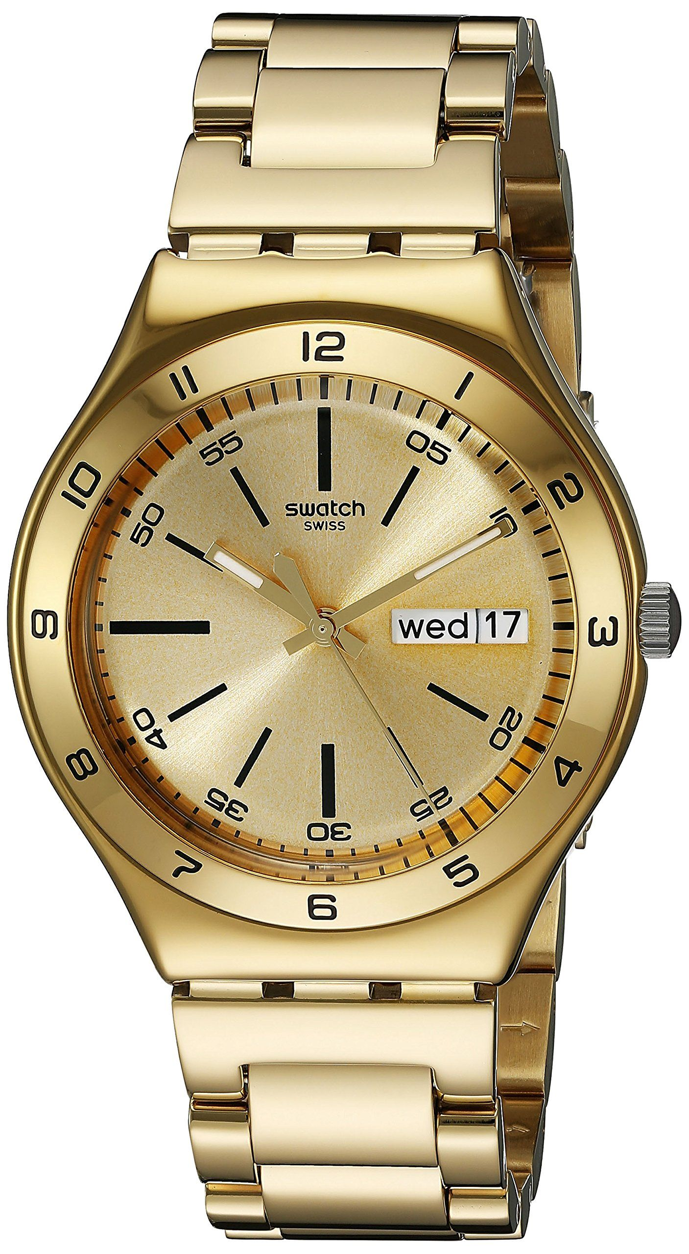 Swatch Yellow Medal YGG706G - Orologio unisex  Swatch  Amazon.it  Orologi afb8ee240d3e
