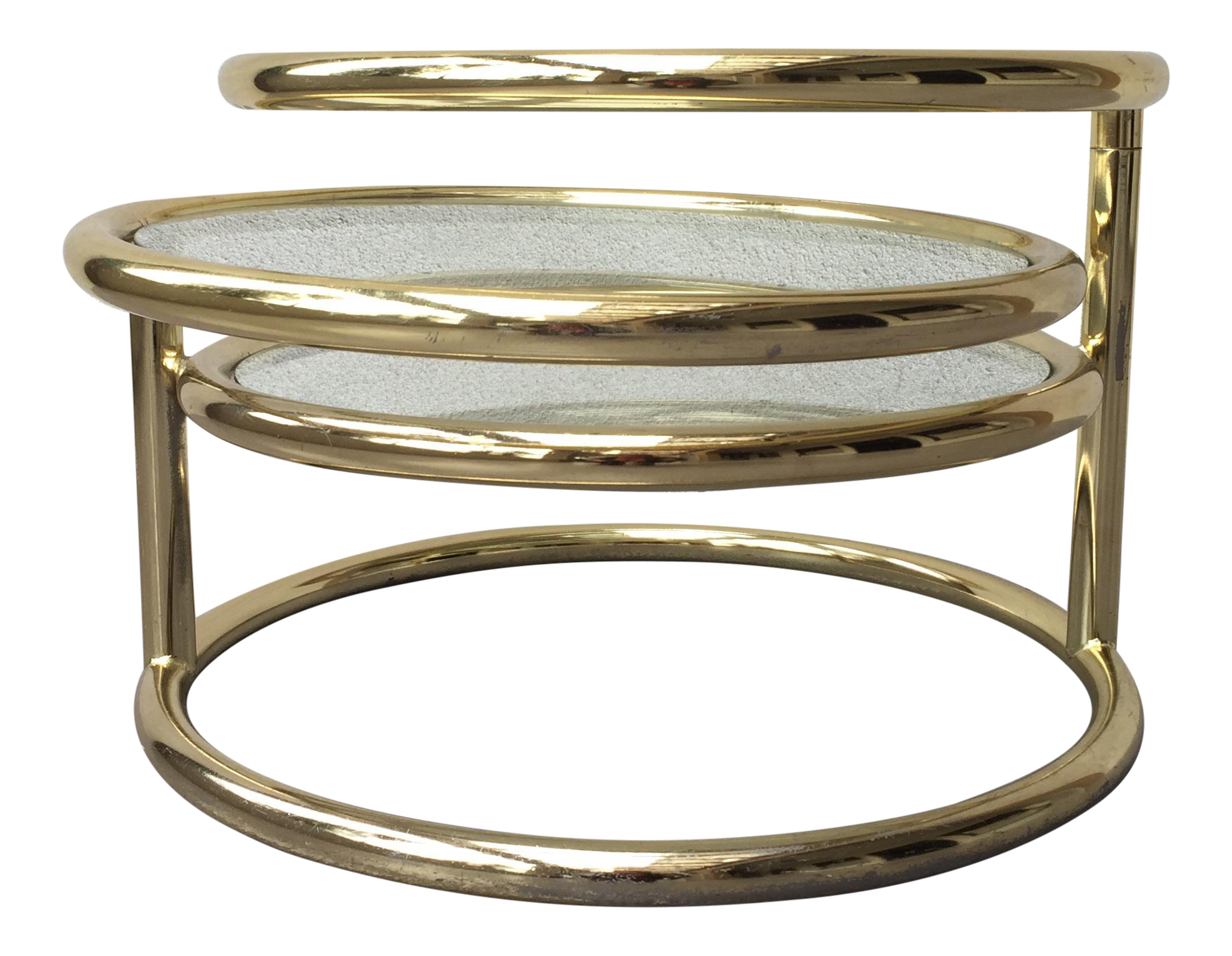 milo baughman for dia gold chrome coffee table | coffee, mid