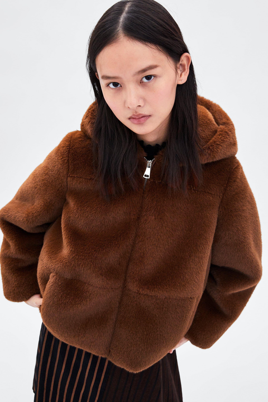 a6fabe16 Faux fur jacket in 2019 | clothes | Fur jacket, Faux fur, Fur