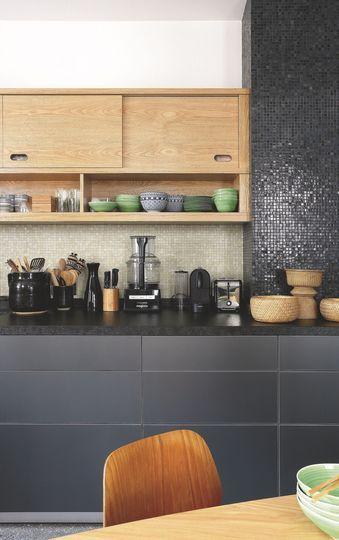 Appartement Paris 7 Invalides Au Style Art Déco. Kitchen BlackKitchen ...
