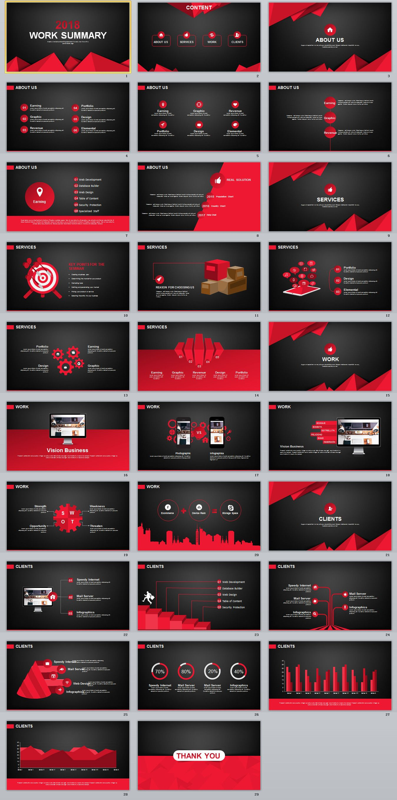 29 red black work summary powerpoint templates powerpoint 29 red black work summary powerpoint templates powerpoint templates presentation animation toneelgroepblik Images