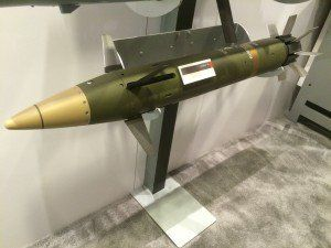 Raytheon's Excalibur N5 smart artillery shell. Lately, Raytheon has successfully test-fired its Excalibur N5, redesigned for the Navy's standard Mark 45 gun.
