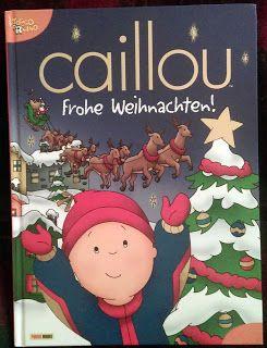 Caillou Weihnachten.Gyerekmóka Caillou Frohe Weihnachten Könyvajánló Christmas