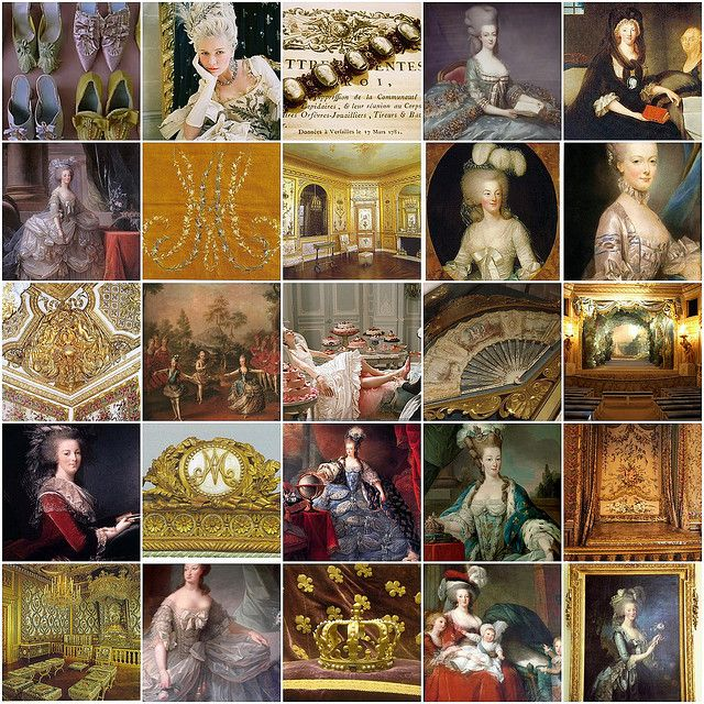 Marie Antoinette collage