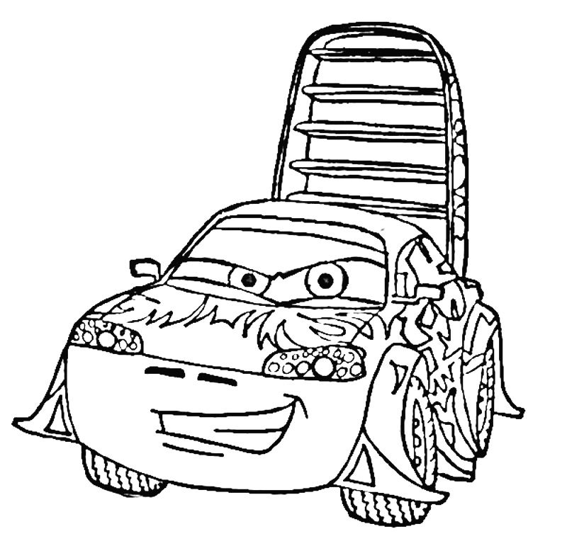 Disney Cars 2 Coloring Pages AZ Coloring Pages