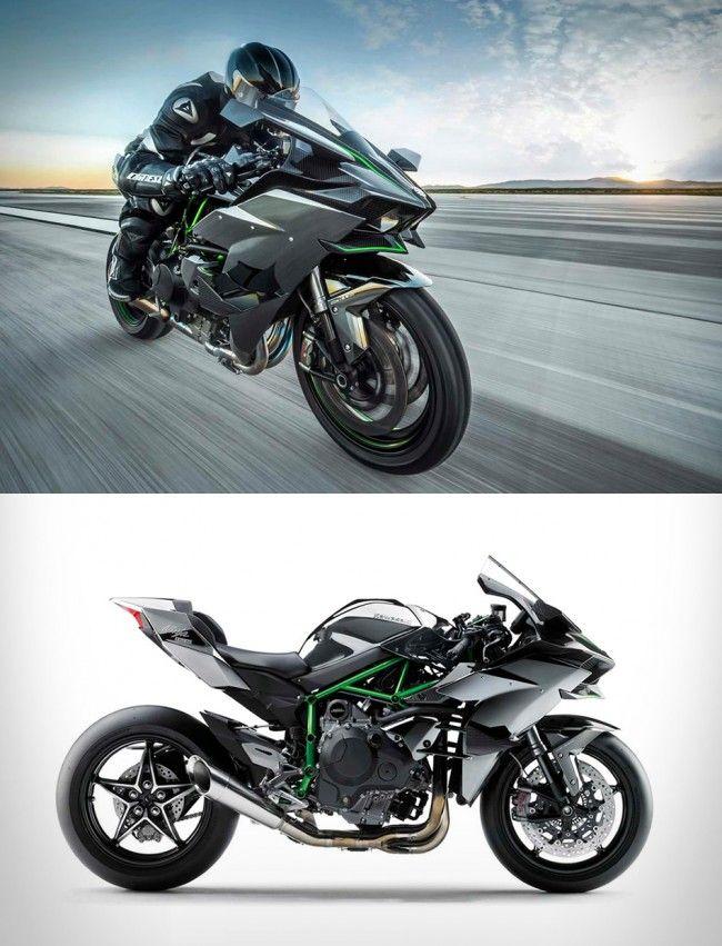 2015 Kawasaki Ninja H2r Kawasaki Ninja Super Bikes Beautiful Bike