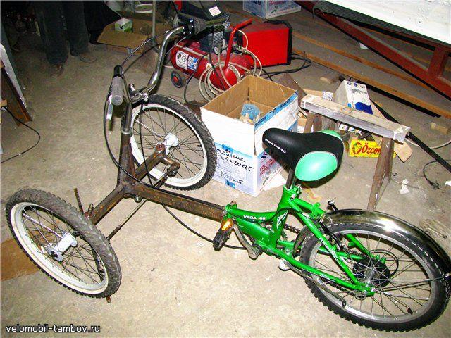 Самодельный трехколесный велосипед своими руками фото 674