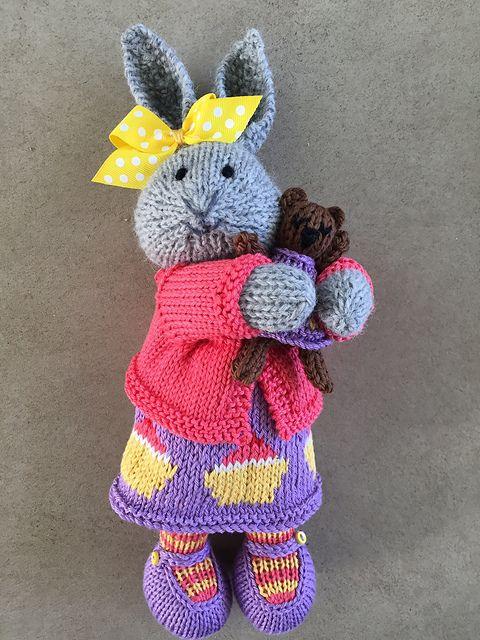 pingl par b r nice o sur lapin pinterest tricot modele tricot et doudou. Black Bedroom Furniture Sets. Home Design Ideas