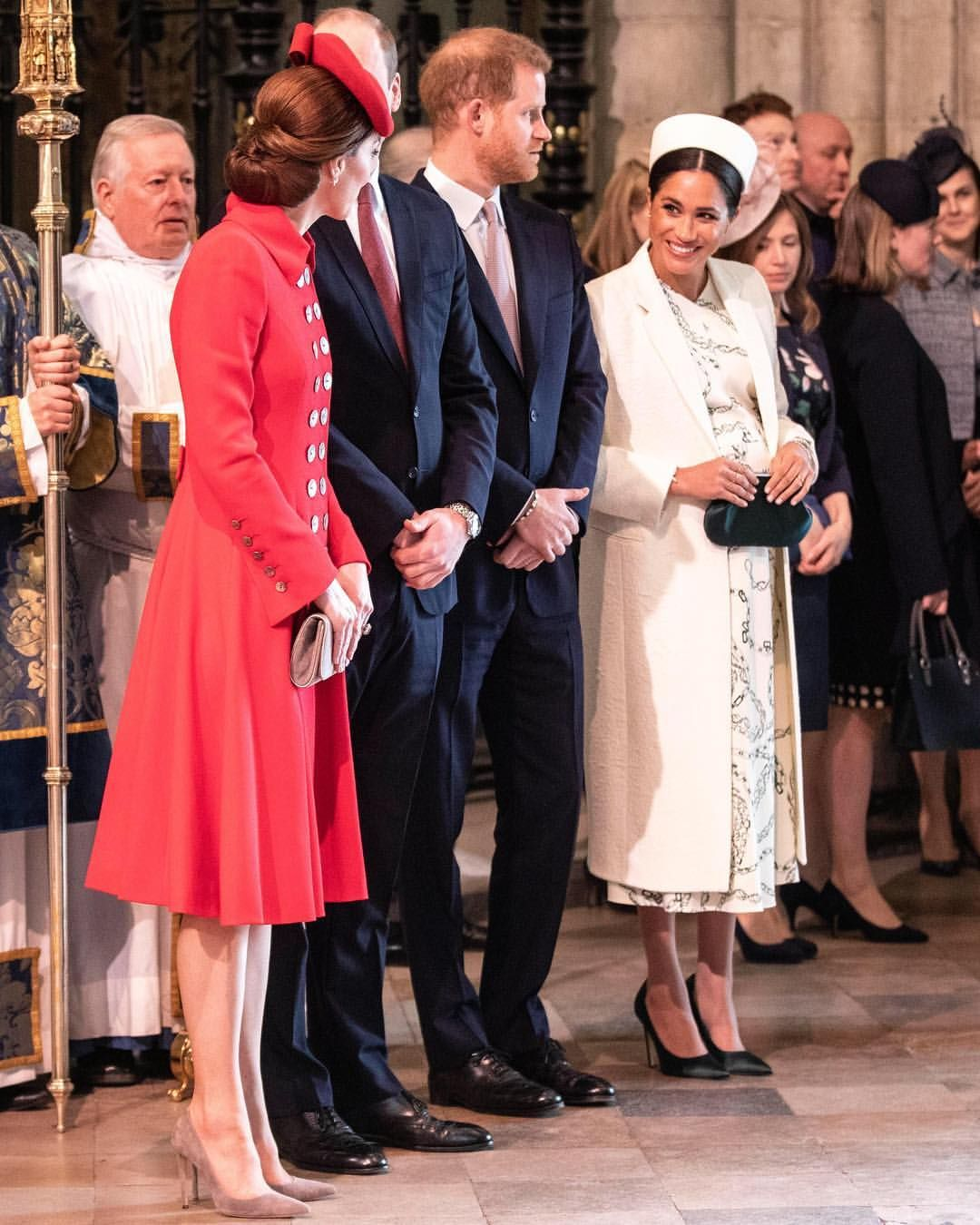On Commonwealthday The Duke And Duchess Of Cambridge And