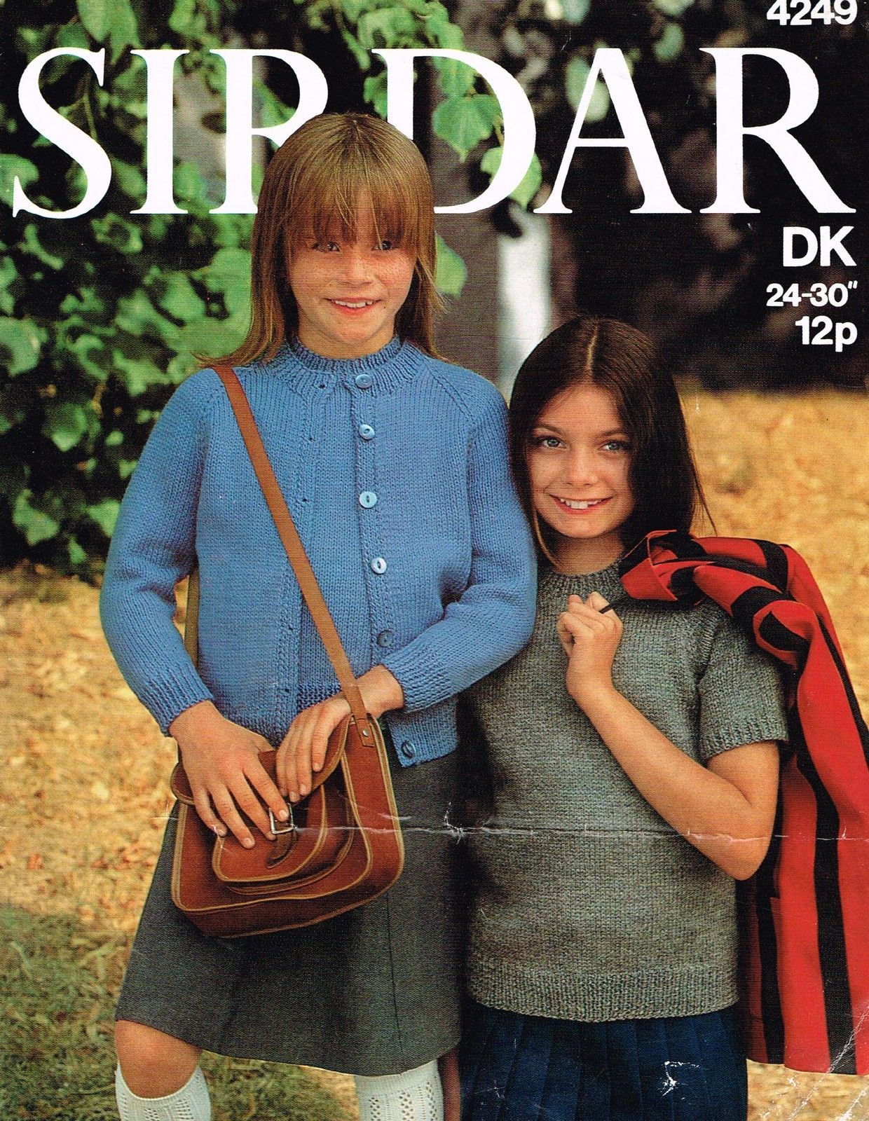Knitting pattern girls easy to knit summer twin set sweater knitting pattern girls easy to knit summer twin set sweater cardigan sirdar 4249 bankloansurffo Image collections