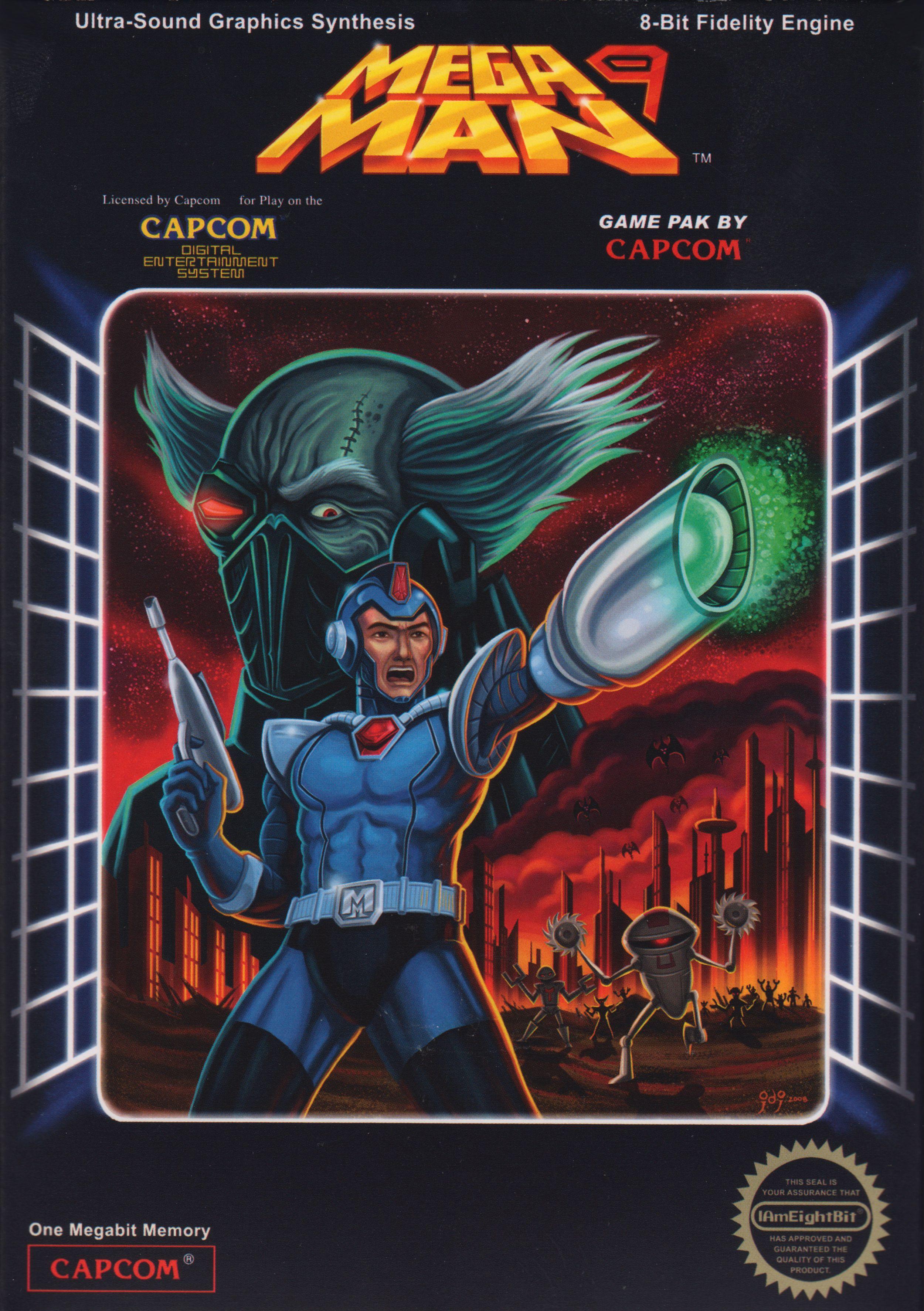 mega man 9 retro games poster mega