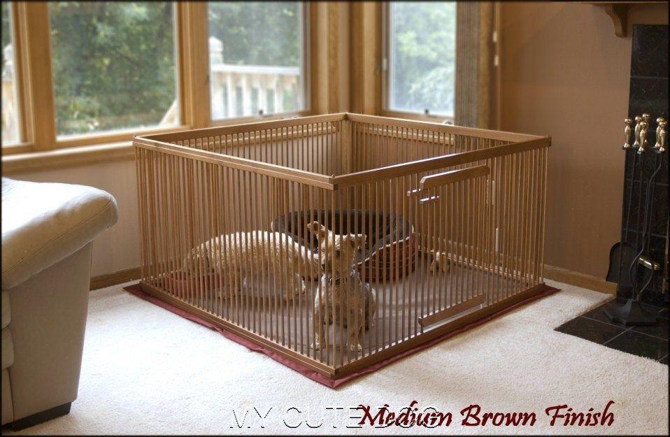 Indoor Dog Kennel Furniture Ideas Indoor dog kennel, Dog