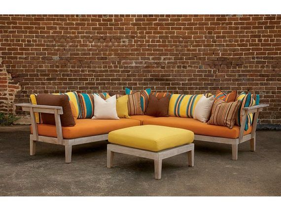 Sunbrella Outdoor Patio Furniture Custom Cushions Fabric All Colors Any Sizes We