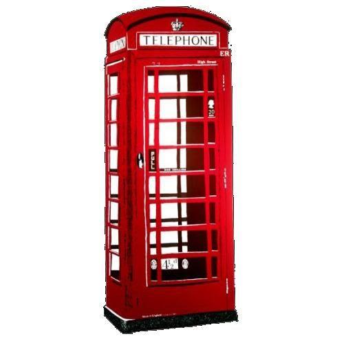 PAPERMAU: K6 Britsh Phone Box - by Dossier Models - Cabine T...