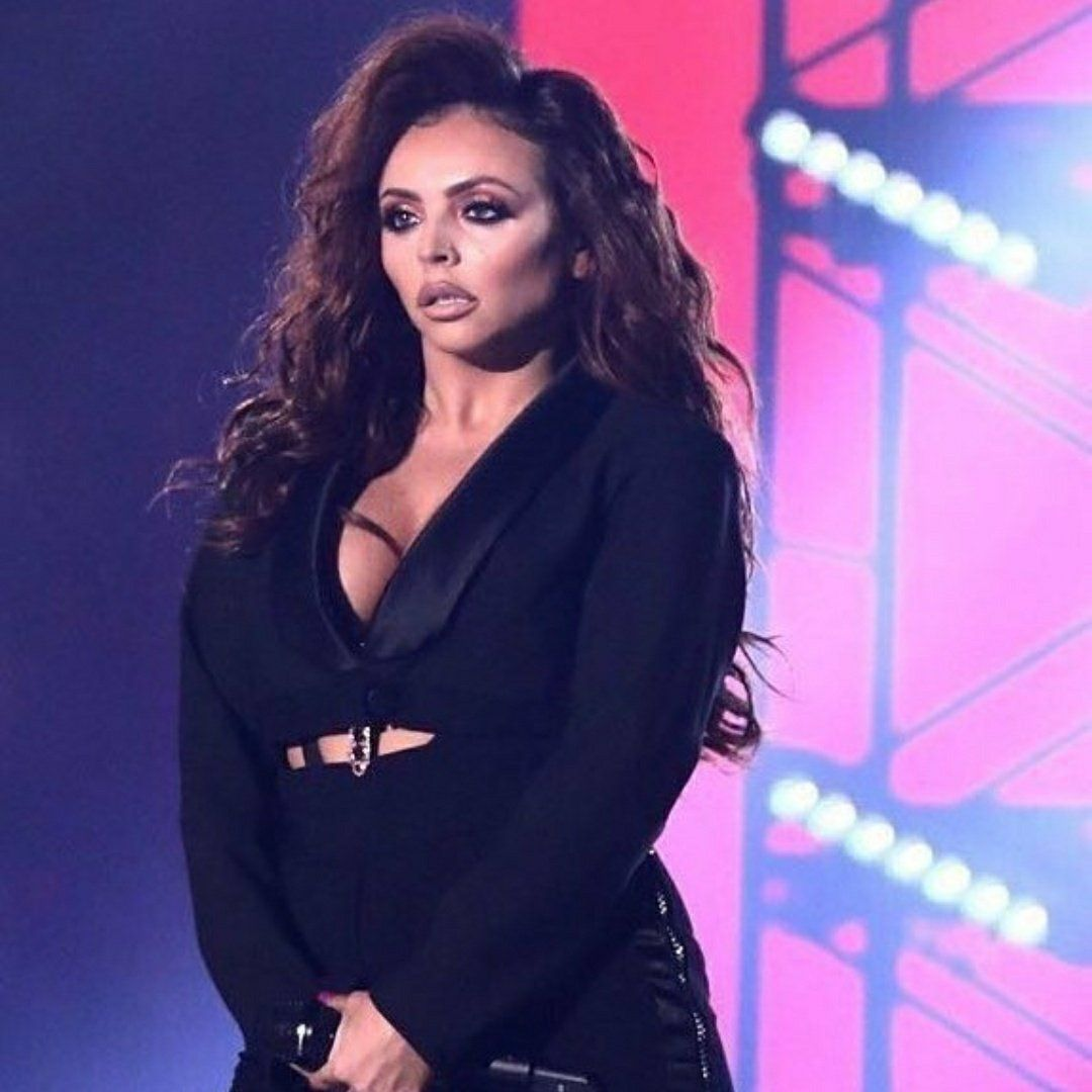 Jesy during Little Mix's performance of Power and