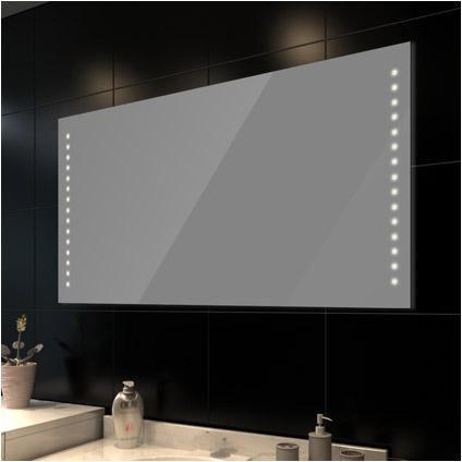 Badkamerspiegel met LED verlichting 100 x 60 cm | badkamer 2 | Pinterest