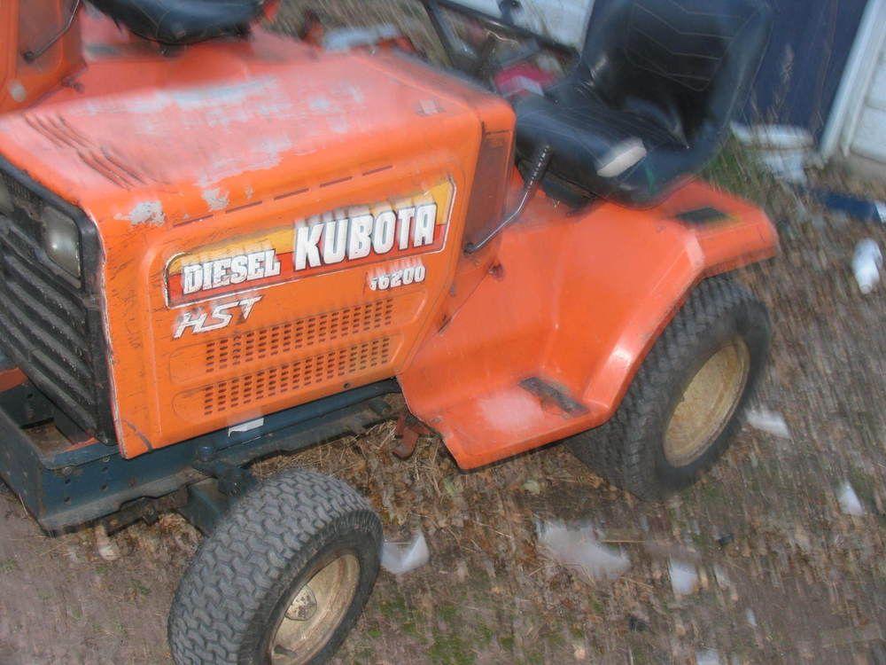 Details about KUBOTA G6200 3 CYLINDER Diesel Garden Tractor