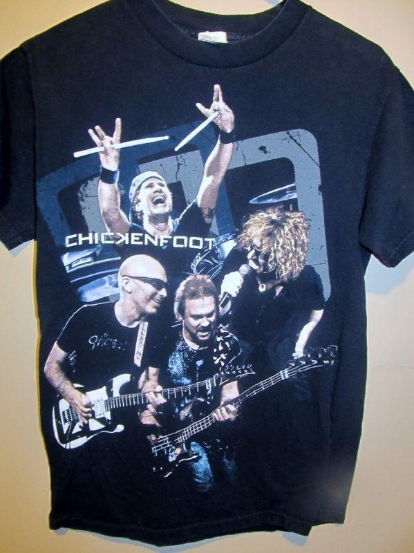 2009 Chickenfoot tour shirt - Sammy Hagar - Adult Small