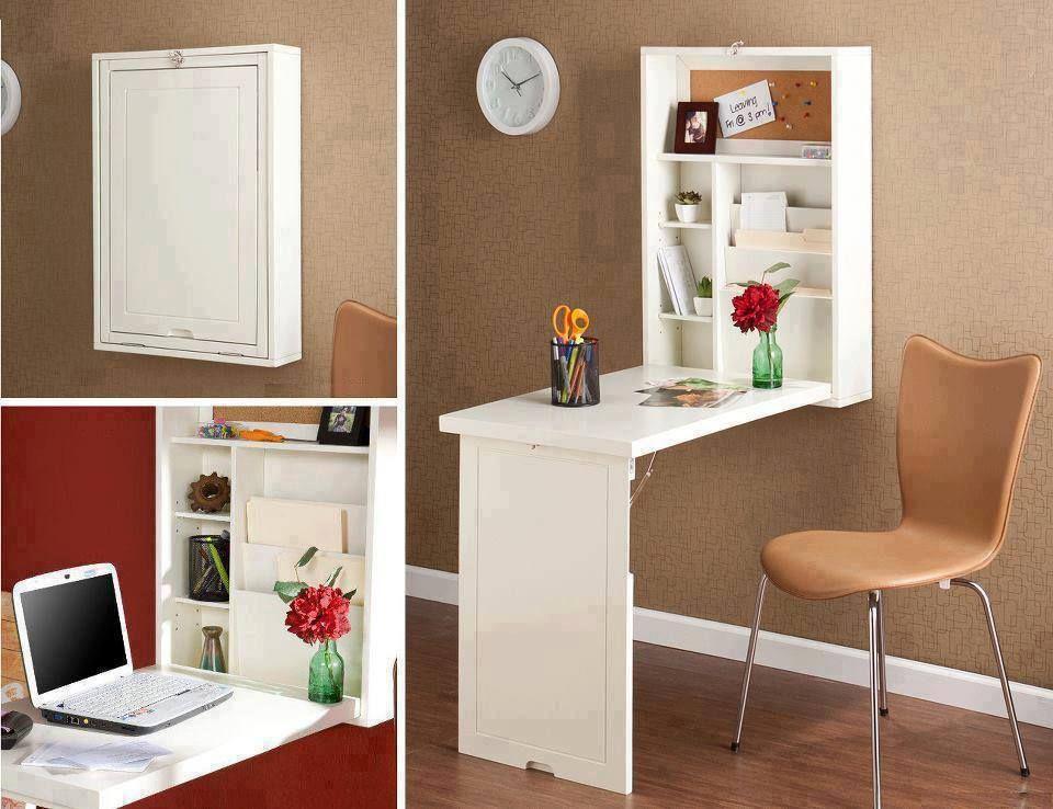 Escritorio para espacios peque os muebles casas in 2019 - Escritorio para espacios pequenos ...