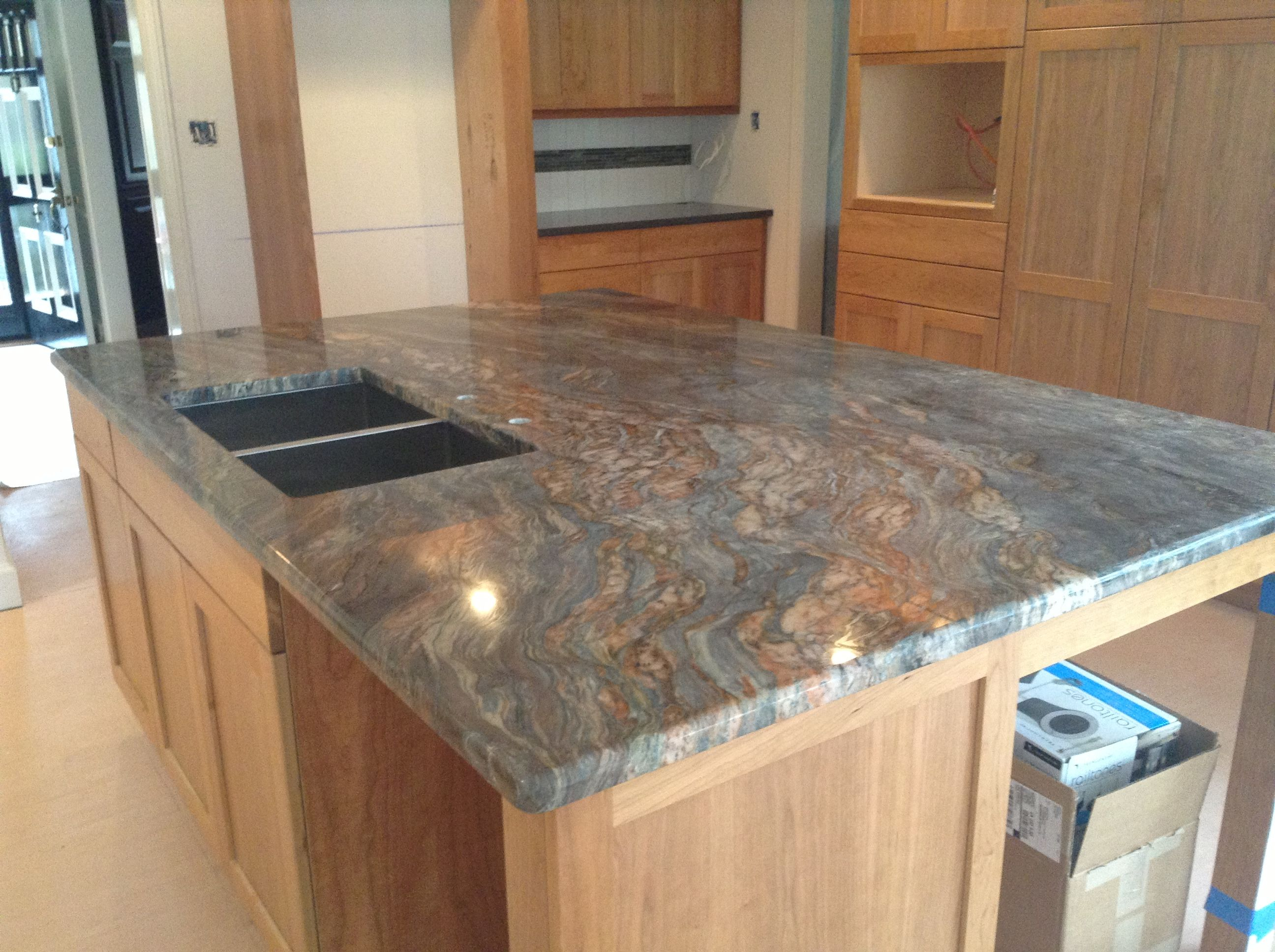 How Off The Charts Is This Fusion Extra Granite Island
