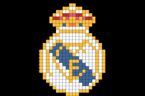 Real Madrid Pixel Art Art 8 Bit Art