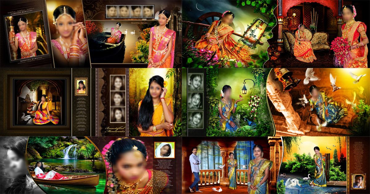 Wedding Album Design Indian Style