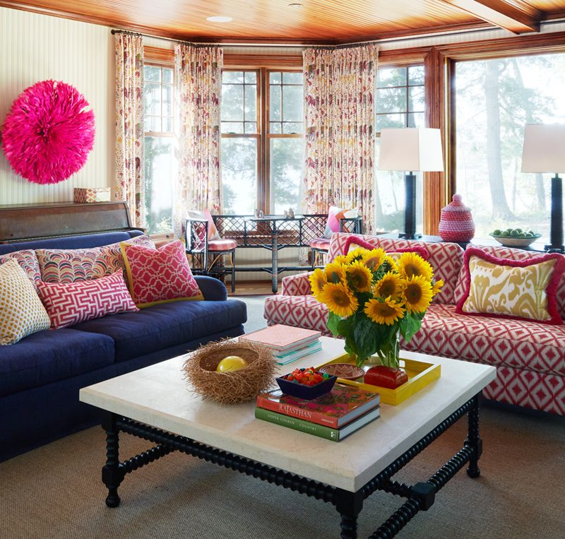 anne hepfer designs lake house family room room and house