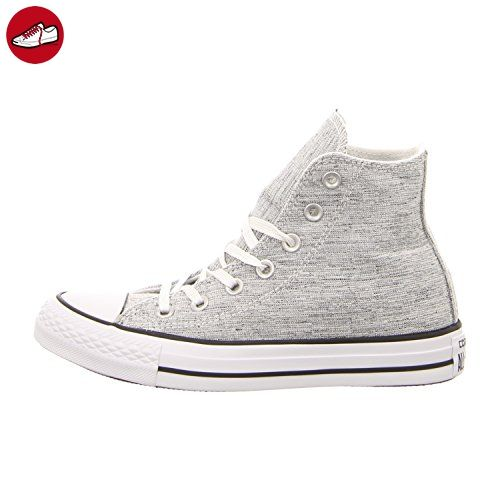 Damen 156810c Sneakers, Schwarz (Black/White/White), 40 EU Converse