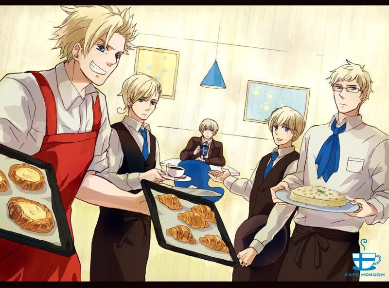 The Nordics had a baking day - Art by Neghy