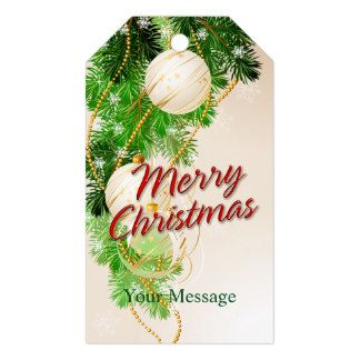 Merry Christmas 24 Options Gift Tags