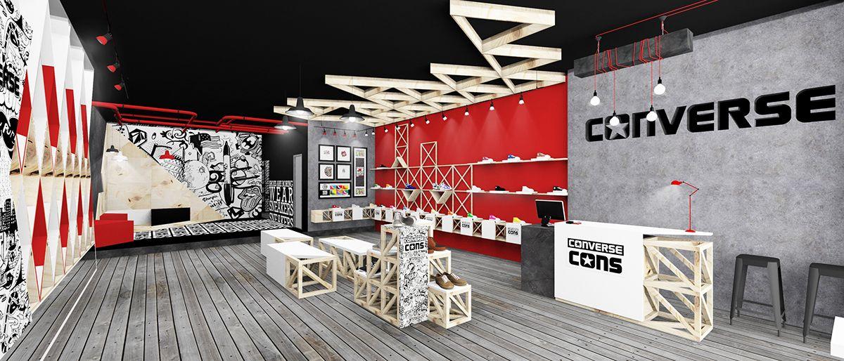 CONVERSE store on Behance | Converse