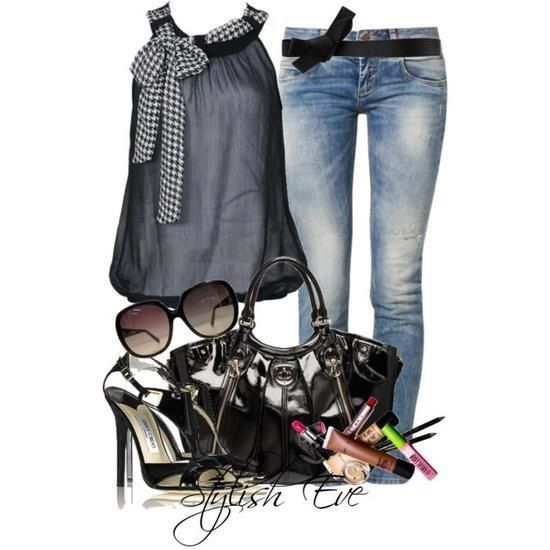 Great outfit for an evening out.