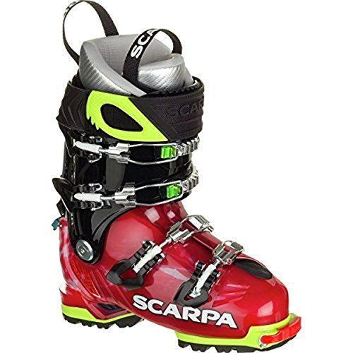 Scarpa Womens Freedom SL 120 Ski Boots Scarlet  White 215 ** Read more  at the image link. (This is an Amazon affiliate link and I receive a commission for the sales and I receive a commission for the sales)
