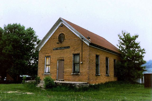 Wisconsin Richland County Pine River School District No 1 630 School House Rock Old School House Country School