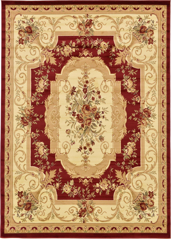 Unique Loom 8 0 X 11 4 Red William Versailles