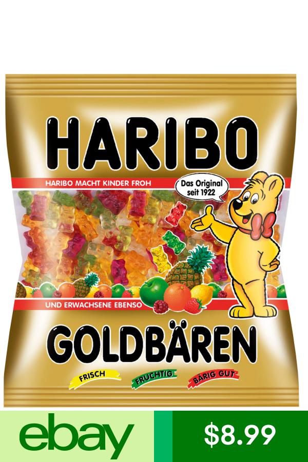 Haribo Gold Bears Gummi Bears 3lbs In 2021 Haribo Gold Bears Gummy Bears Haribo