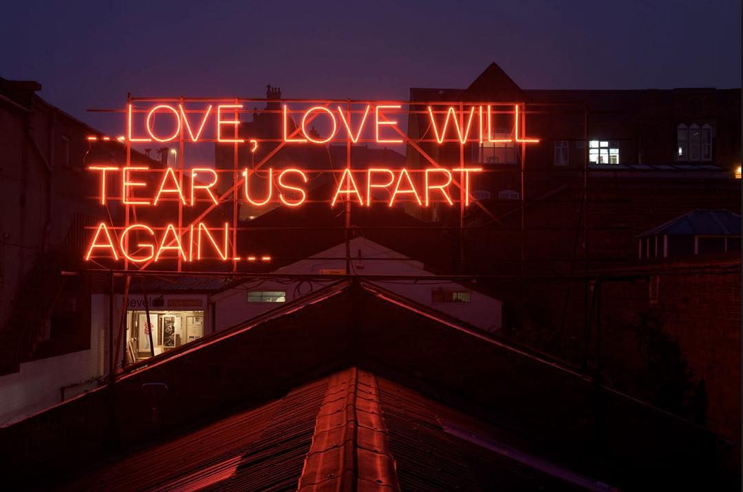 Love, Love Will Tear Us Apart Again  Victoria Lucas and Richard William Wheater, 2011  #brokenships