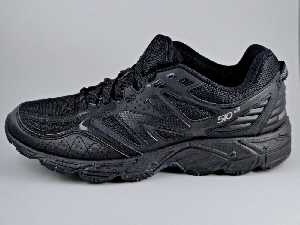 huge discount b02c2 9111d Mens 9 XW 4E New Balance Trail Running Hiking Sneakers Black Shoes MT510CB3   NewBalance  TrailRunning