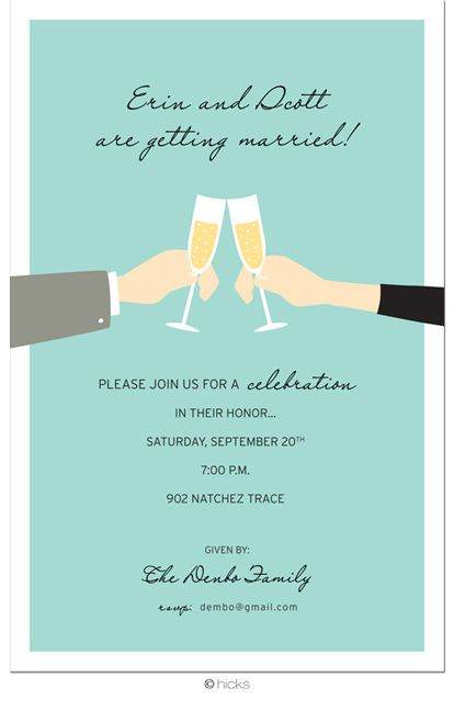 engagement party invite Engagement party invitations Pinterest - how to word engagement party invitations