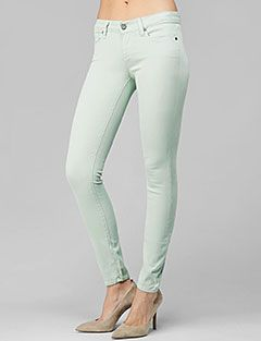 Paige Verdugo Ultra Skinny in Chiffon  http://bit.ly/GUtnwj #mint