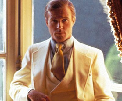 Robert Redford as Jay Gatsby in The Great Gatsby(1974)