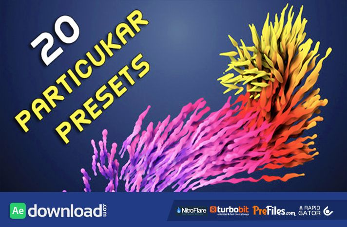 Videohive 20 Particular Presets Magic Pack Free Download Co