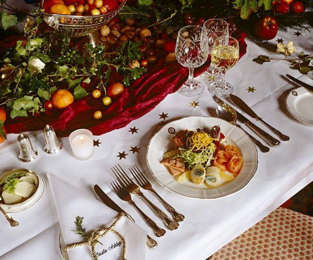 C mo organizar la mesa para las comidas y cenas navide as - Mesa navidena ...