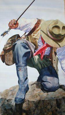 Got Em by Nelson Boren I love watercolor paintings!